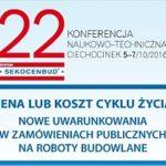 22 konferencja w Ciechocinku – październik 2016