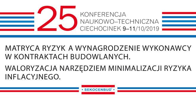 25 konferencja w Ciechocinku - październik 2019