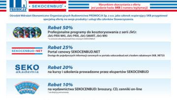 Oferta Ośrodka Wdrożeń Ekonomiczno-Organizacyjnych Budownictwa PROMOCJA Sp. z o.o.