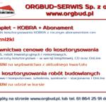 Oferta ORGBUD-SERWIS Sp. z o.o.